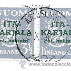 Sellos: FINLANDIA - ITA KARJALA. Lote 50333362