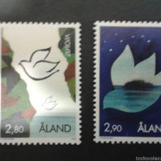 Sellos: SELLOS DE ALAND (FINLANDIA). EUROPA CEPT. YVERT 100/01. SERIE COMPLETA NUEVA SIN CHARNELA.. Lote 52740521