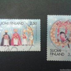 Sellos: SELLOS DE FINLANDIA. YVERT 1509/10 SERIE COMPLETA USADA.. Lote 53111414