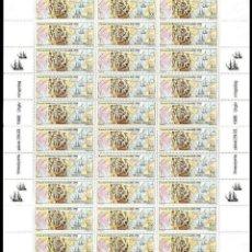 Sellos: FINLANDIA 1988 INMIGRANTES A USA. Lote 30016717