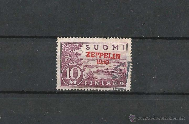 FINLANDIA 1930 CORREO AEREO SOBRECARGADO (Sellos - Extranjero - Europa - Finlandia)