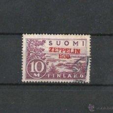 Sellos: FINLANDIA 1930 CORREO AEREO SOBRECARGADO. Lote 54366604
