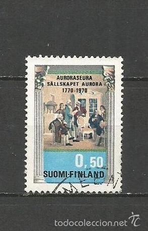 FINLANDIA YVERT NUM. 646 USADO (Sellos - Extranjero - Europa - Finlandia)