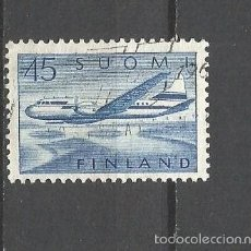 Sellos: FINLANDIA CORREO AEREO YVERT NUM. 6 USADO. Lote 55157935