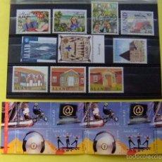 Sellos: ALAND 1998 AÑO COMPLETO YVERT Nº 134 / 148 ** MNH VER FOTOS. Lote 56333795