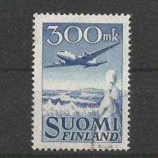 Sellos: FINLANDIA 1950 CORREO AEREO DOUGLAS DC 6 USADO. Lote 56465399