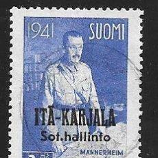 Sellos: FINLANDIA - ITA KARJALA. Lote 57145629