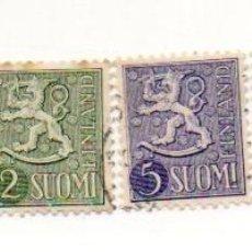 Sellos: FINLANDIA 1954-SERIE 432/439 -INCOMPLETA. Lote 57857028