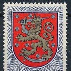 Sellos: FINLANDIA 1978 IVERT 787 *** SERIE BÁSICA - ESCUDO NACIONAL. Lote 58108421