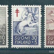 Sellos: FINLANDIA Nº 527/9 (YVERT). AÑO 1962.. Lote 58135921