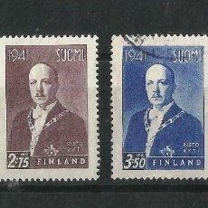 Sellos: FINLANDIA 1941 EFIGIE DEL PRESIDENTE RISTO RYTI. Lote 58635204