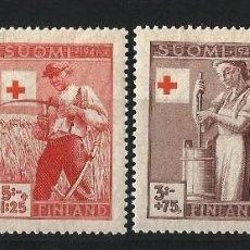 Sellos: FINLANDIA 1946 CRUZ ROJA INDUSTRIAS. Lote 58635252