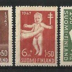 Sellos: FINLANDIA 1947 ANTITUBERCULOSOS AYUDA A LA INFANCIA.. Lote 58635264