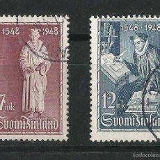 Sellos: FINLANDIA 1948 4º CENTENARIO DE LA TRADUCCION DEL NUEVO TESTAMENTO . Lote 58635291
