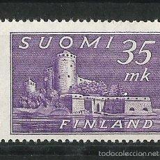 Sellos: FINLANDIA 1949 FORTALEZA DE OLAVINLINNA. Lote 58635335