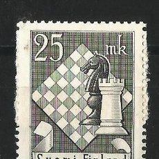 Sellos: FINLANDIA 1952 10º TORNEO DE AJEDREZ. Lote 58635411