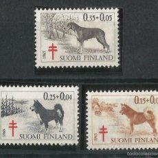 Sellos: FINLANDIA 1965 ANTITUBERCULOSOS. Lote 58635467