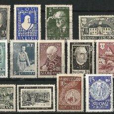 Sellos: FINLANDIA LOTE DE SELLOS AÑOS 40-50 . Lote 58635476
