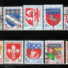 Sellos: FRANCIA, ESCUDOS DE PROVINCIAS. *,MH (16-480). Lote 60835403
