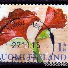 Sellos: 2009 FINLANDIA. FLORA: AMARYLLIS .*,MH. Lote 61756516