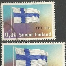 Sellos: FINLANDIA YVERT NUM. 783/784 SERIE COMPLETA USADA. Lote 62762584