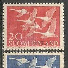 Sellos: FINLANDIA YVERT NUM. 445/446 **SERIE COMPLETA SIN FIJASELLOS. Lote 62868336