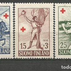 Sellos: FINLANDIA YVERT NUM. 430/432 ** SERIE COMPLETA SIN FIJASELLOS. Lote 62871108