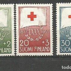 Sellos: FINLANDIA YVERT NUM. 463/465 SERIE COMPLETA NUEVA SIN GOMA. Lote 62871516