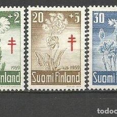 Sellos: FINLANDIA YVERT NUM. 486/488 SERIE COMPLETA NUEVA SIN GOMA. Lote 62872172
