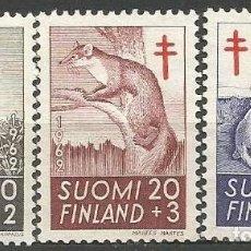 Sellos: FINLANDIA YVERT NUM. 527/529 SERIE COMPLETA NUEVA SIN GOMA. Lote 62873008