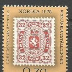 Sellos: FINLANDIA YVERT NUM. 727 ** SERIE COMPLETA SIN FIJASELLOS. Lote 62910392