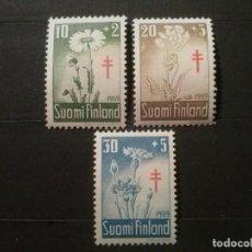 Sellos: FINLANDIA YVERT Nº 486 A 488 **. Lote 73318335