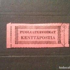 Sellos: FINLANDIA , SELLOS MILITARES 1941 YVERT Nº 1. Lote 73395991