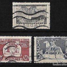 Sellos: FINLANDIA 1935 CENTENARIO DE LA PUBLICACION DEL POEMA EPICO KALEVALA. Lote 79053293