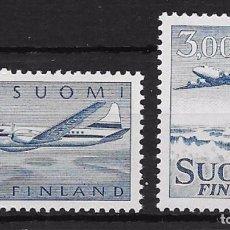 Sellos: FINLANDIA YVERT Nº 8/9**. Lote 93560990