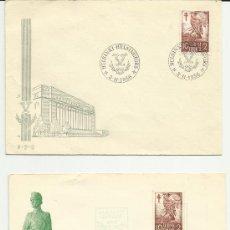 Sellos: FINLANDIA 1956. ANTITUBERCULOSIS. 2 SOBRES 1º DIA CIRCULACION.. Lote 97979211
