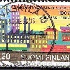 Sellos: FINLANDIA 1982 - USADO. Lote 102076271