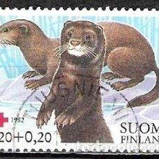 Sellos: FINLANDIA 1982 - USADO. Lote 102076327
