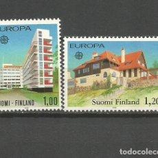 Sellos: FINLANDIA YVERT NUM. 788/789 ** SERIE COMPLETA SIN FIJASELLOS. Lote 104602147