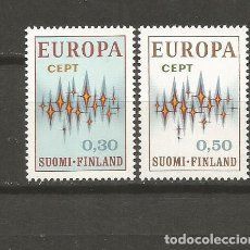 Sellos: FINLANDIA YVERT NUM. 665/666 ** SERIE COMPLETA SIN FIJASELLOS. Lote 104632003
