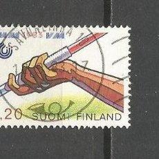 Sellos: FINLANDIA SELLO YVERT NUM. 893 USADO. Lote 107969147