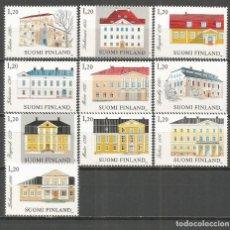 Sellos: FINLANDIA YVERT NUM. 867/876 ** SERIE COMPLETA SIN FIJASELLOS . Lote 119994347