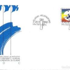 Sellos: FINLANDIA - FDC. Lote 125101779