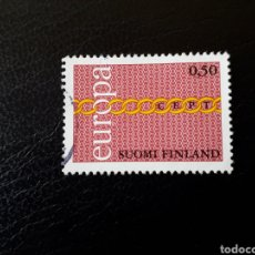 Sellos: FINLANDIA. YVERT 654. SERIE COMPLETA USADA. EUROPA CEPT.. Lote 126281084
