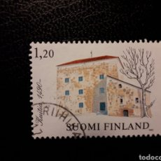 Sellos: FINLANDIA. YVERT 867. SELLO SUELTO USADO. ARQUITECTURA RURAL. Lote 126604667