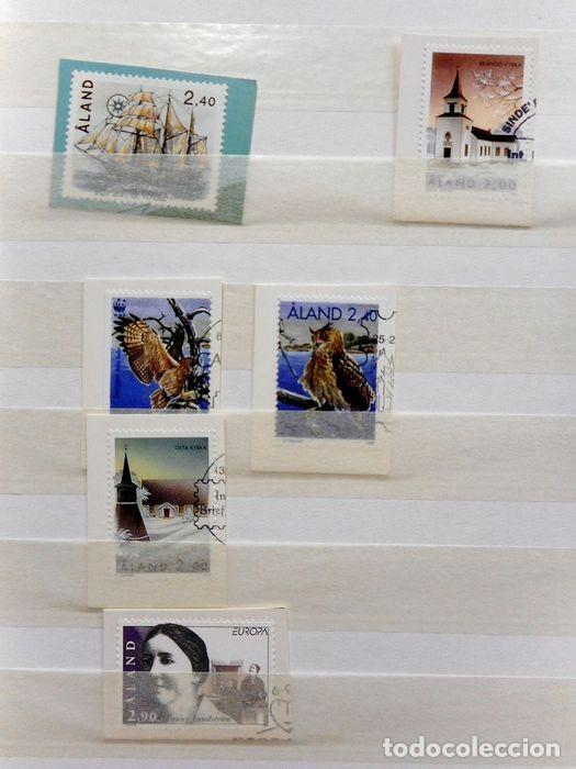 Sellos: SELLOS DE ALAND, en dos tomos. - Foto 6 - 131561266