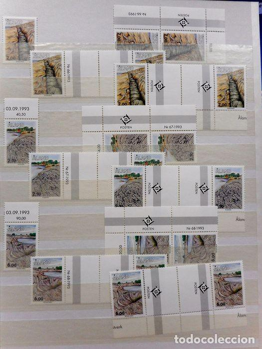 Sellos: SELLOS DE ALAND, en dos tomos. - Foto 7 - 131561266