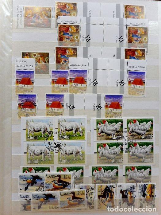 Sellos: SELLOS DE ALAND, en dos tomos. - Foto 8 - 131561266