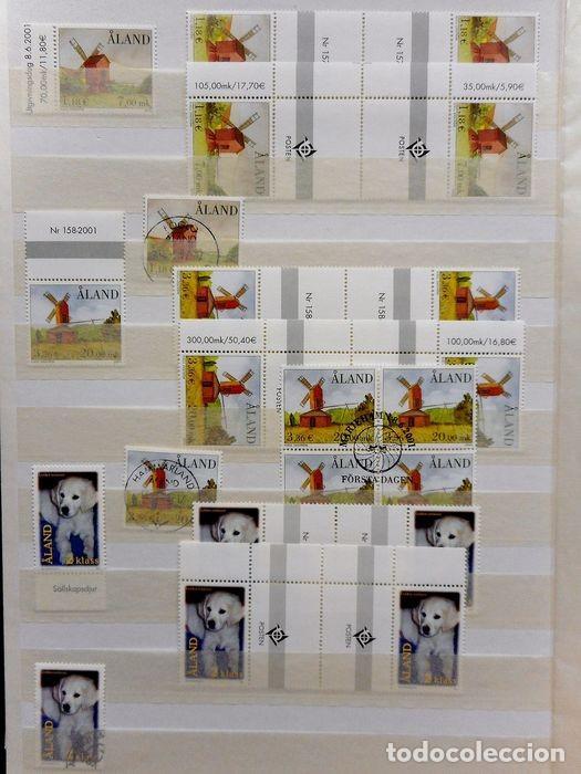 Sellos: SELLOS DE ALAND, en dos tomos. - Foto 10 - 131561266