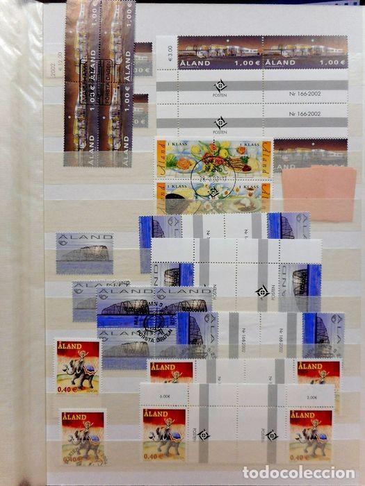 Sellos: SELLOS DE ALAND, en dos tomos. - Foto 11 - 131561266